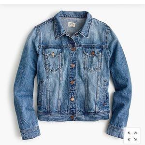 J. Crew Classic Denim Jacket